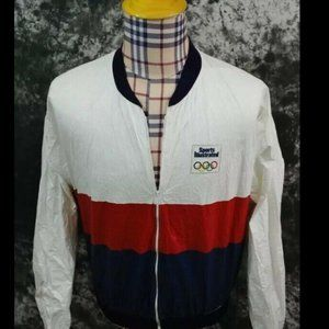 Adult XL Vintage Olympic Sports Illustrated Tyvek